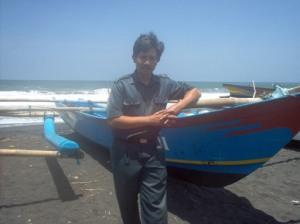 Nampang dulu di Pantai Bugel Kulon Progo