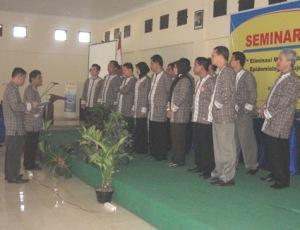 Pelantikan Pengurus HAKLI DIY 2011-2015